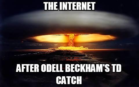 Internet exploding
