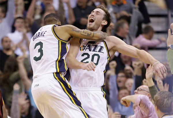 Jazz beat Cavaliers