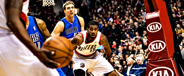 Mavericks vs Blazers