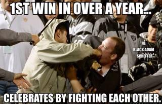 Raiders celebrations