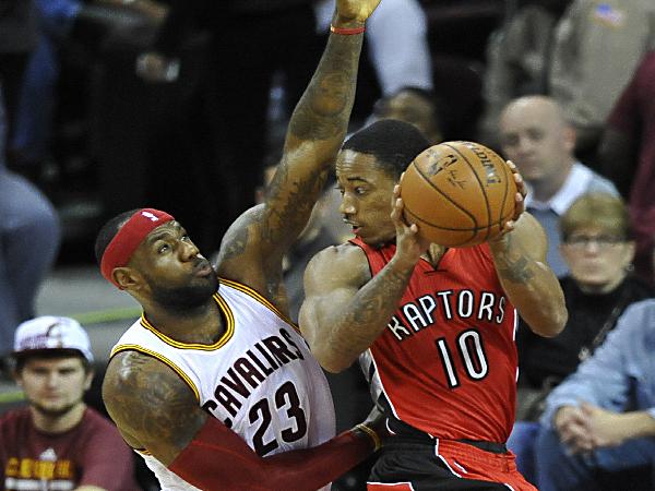 Raptors beat Cavaliers