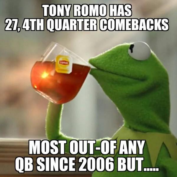 Romo in the 4th quarter