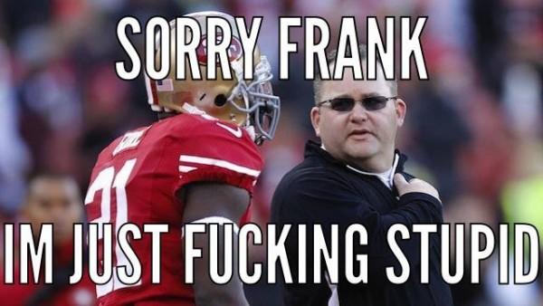 Sorry Frank