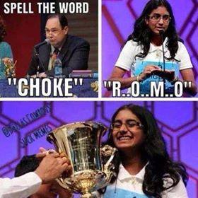 Spelling champion