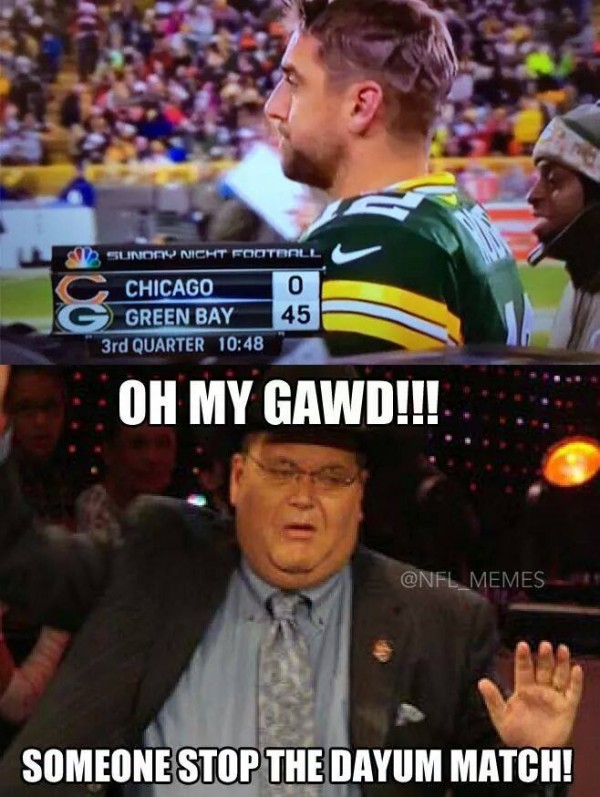 35 Best Memes Of Jay Cutler The Chicago Bears Getting Crushed By The Green Bay Packers