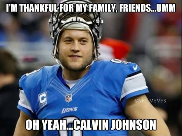 Thankful for CJ