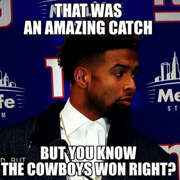 The Cowboys won