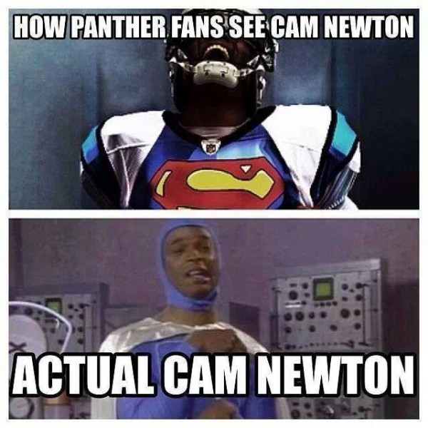 The real Cam Newton
