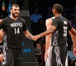 Timberwolves beat Nets