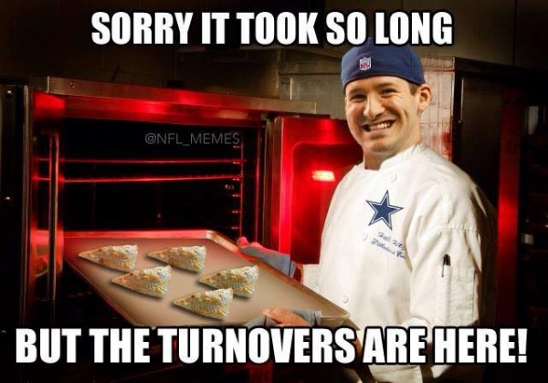 Turnovers are here