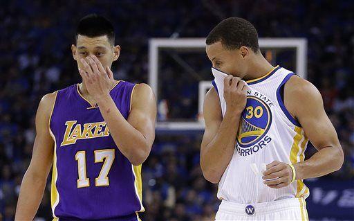 Warriros beat Lakers