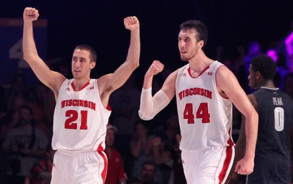Wisconsin beat Georgetown