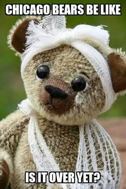 Bears be hurtin