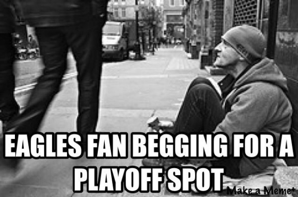 Begging for a playoff spot