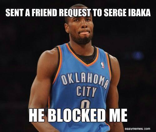 Blocking Ibaka