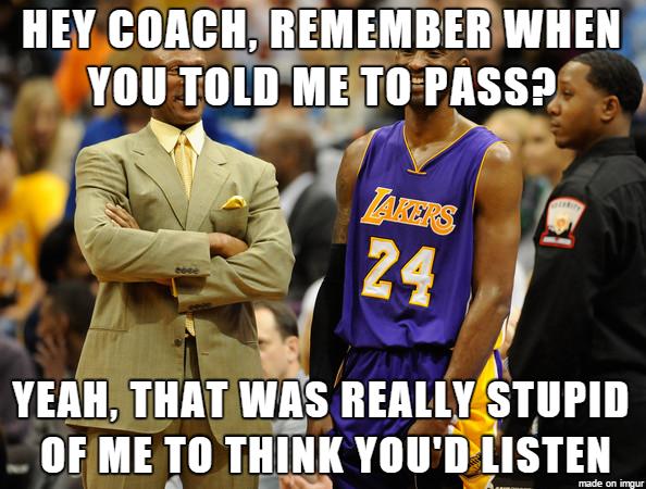 Bryant & Coach Meme