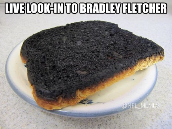Burned Bradley Fletcher