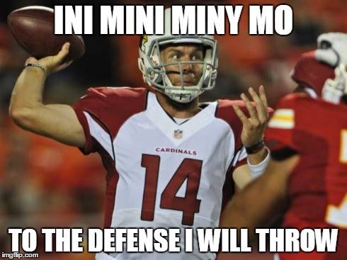Cardinals quarterback 20 Best Memes of Ryan Lindley & the Arizona Cardinals Crushed by the Seattle Seahawks