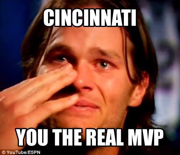 Cincinnati Da real MVP