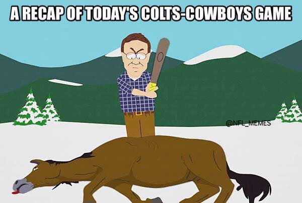 Cowboys beat Colts