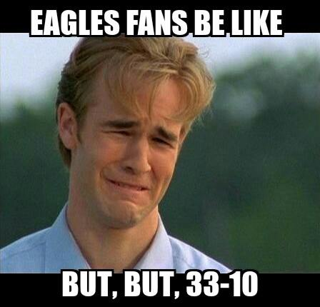 Eagles fans response