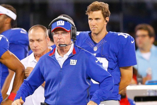Eli Manning, Tom Coughlin