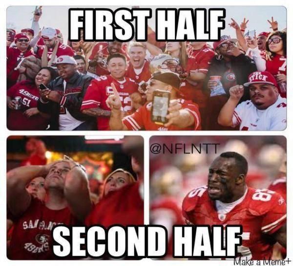 First Half - Second half