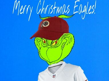Grinch Redskins