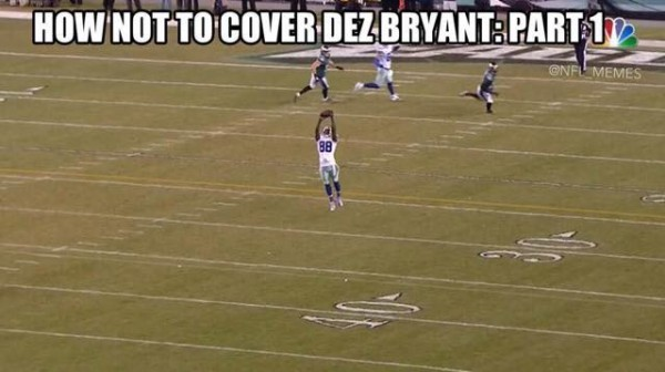 How not to cover Dez Bryant