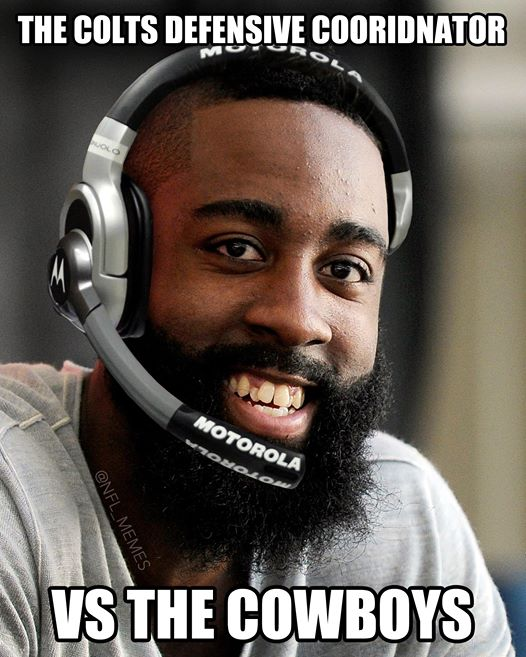 James Harden, Defensive Coordinator