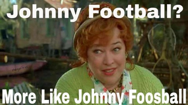 Johnny Football joke