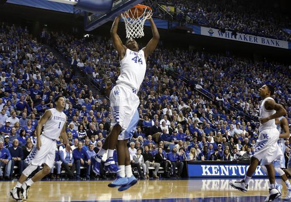 Kentucky beat North Carolina