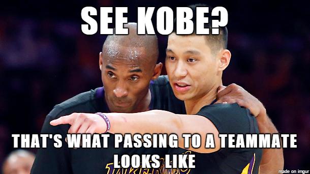 Kobe & Lin Meme