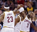 LeBron James, Dion Waiters
