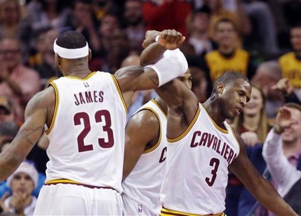 LeBron James, Dion Waiters