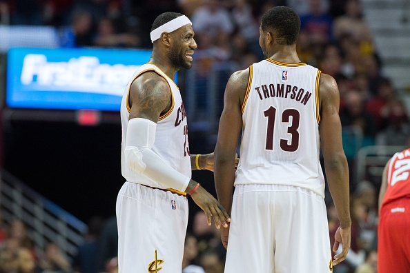 LeBron James, Tristan Thompson