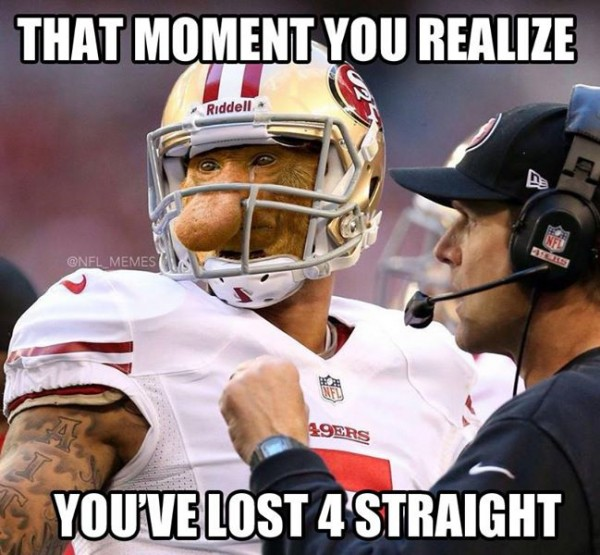Losing four straight