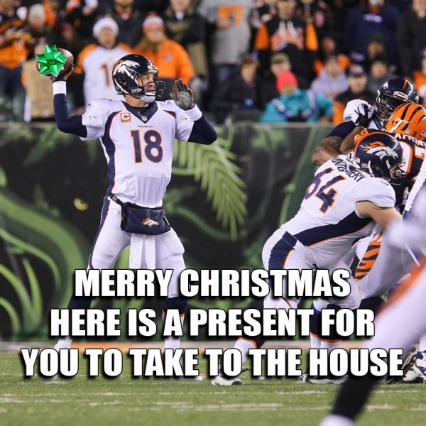 Manning xmas gift