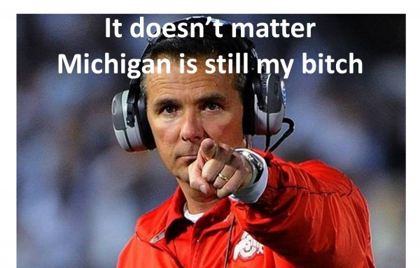 Michigan is still my bitch