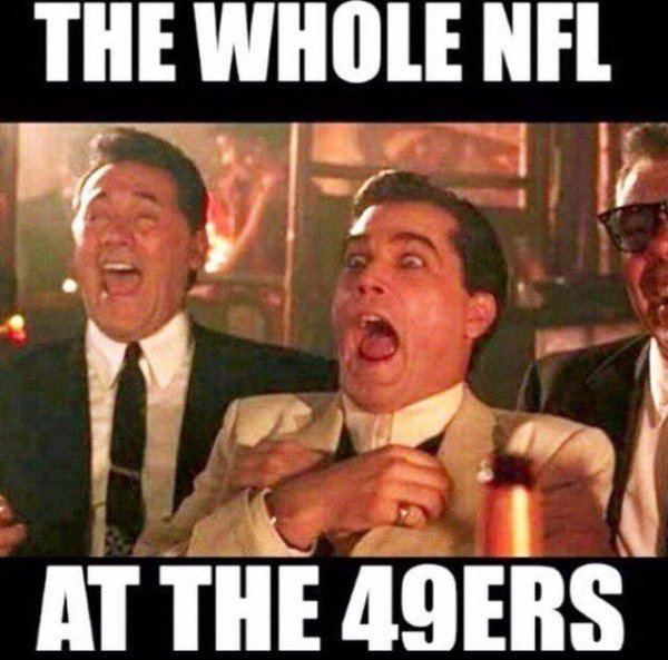 NFl laughing at the 49ers