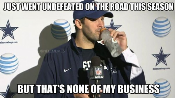 None of Romo's business