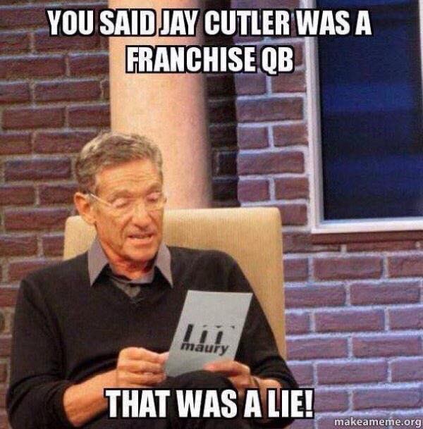 Not a franchise qb