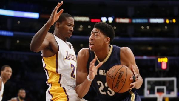 Pelicans beat Lakers