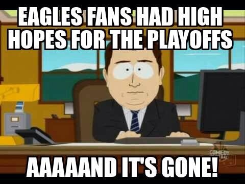 Playoff hopes gone