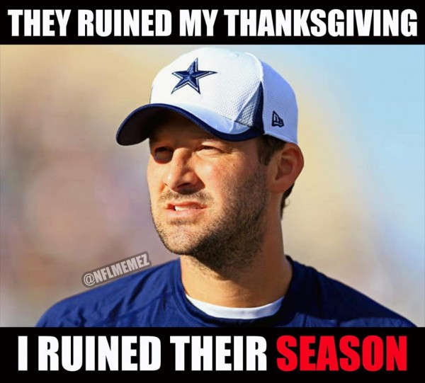 Ruined e1419256481163 29 Best Memes of Tony Romo & the Dallas Cowboys Destroying Andrew Luck & the Indianapolis Colts