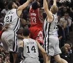 Spurs beat Rockets