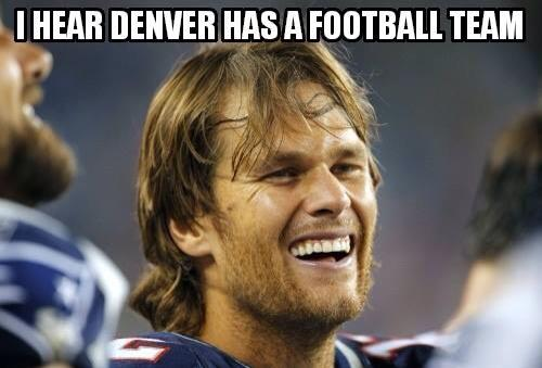 Tom Brady laughing