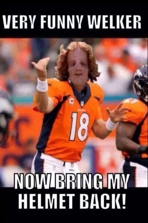 Very funny Welker