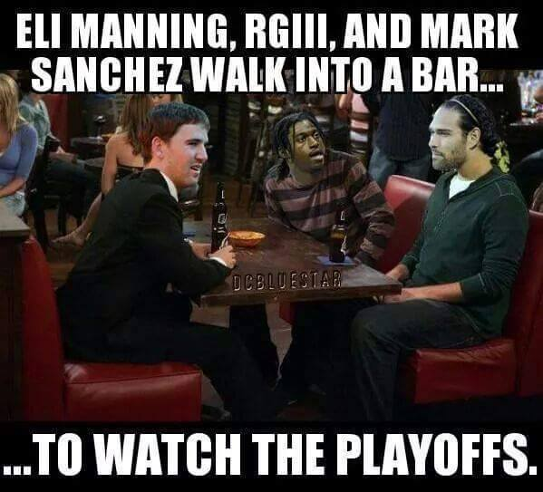 Watch the playoffs in a bar