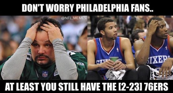 You still have the 76ers